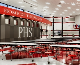 Palatine High School Cafeteria